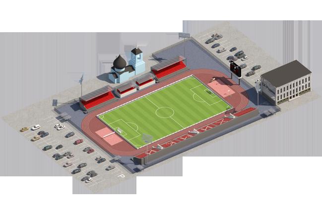 матчей,стадион является
